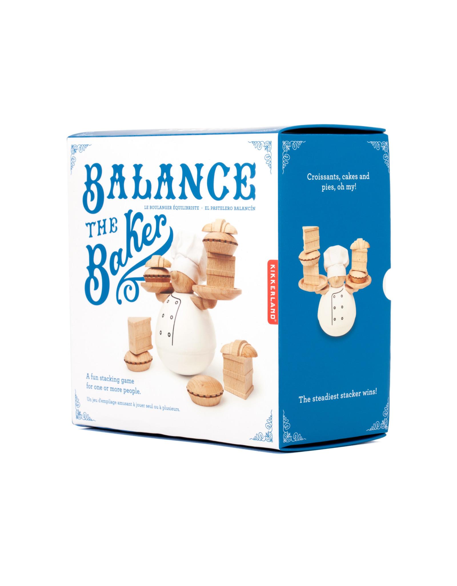 Kikkerland game - balance the baker
