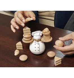 Kikkerland spel - balanceer de bakker