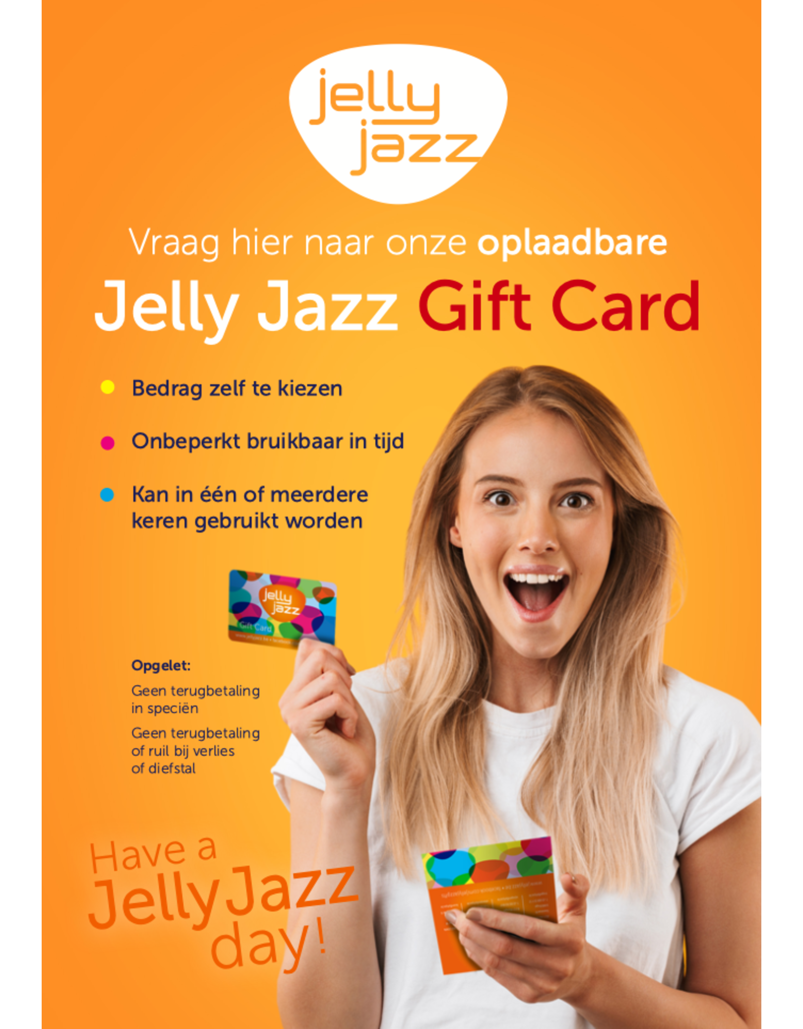 Jelly Jazz gift card €15