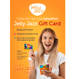 Jelly Jazz gift card €75