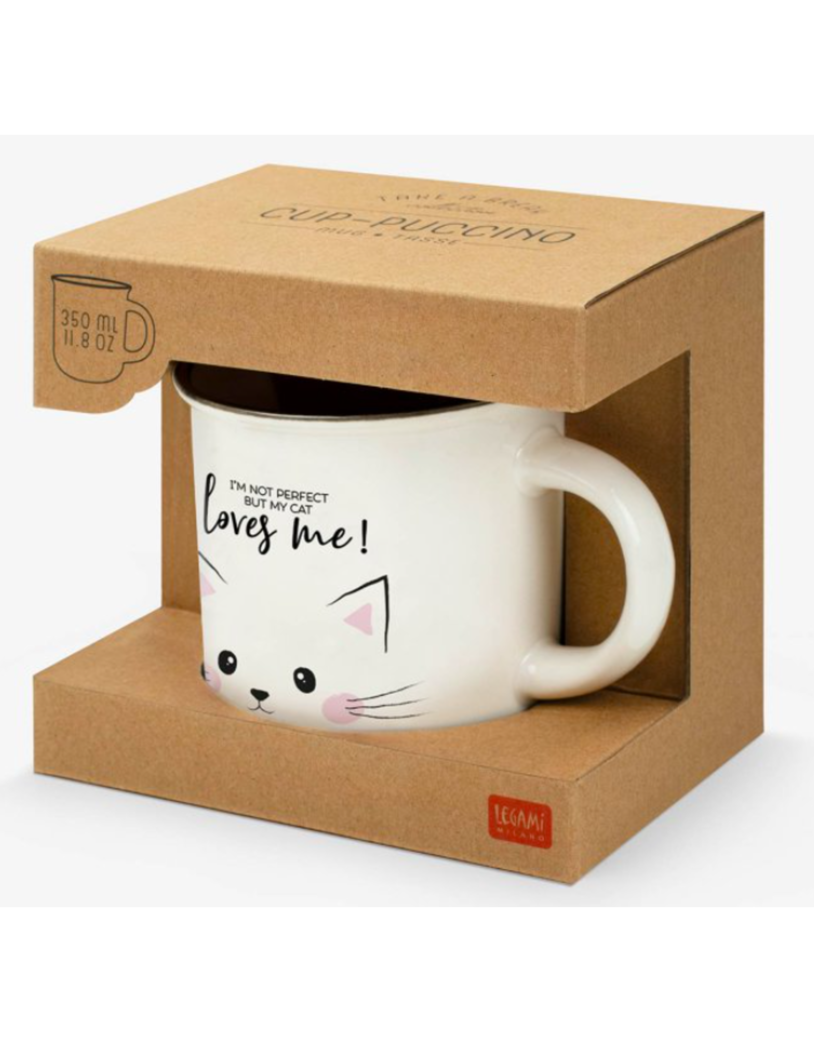 Legami mug puccino - cat