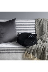 pillow - kitty (black)
