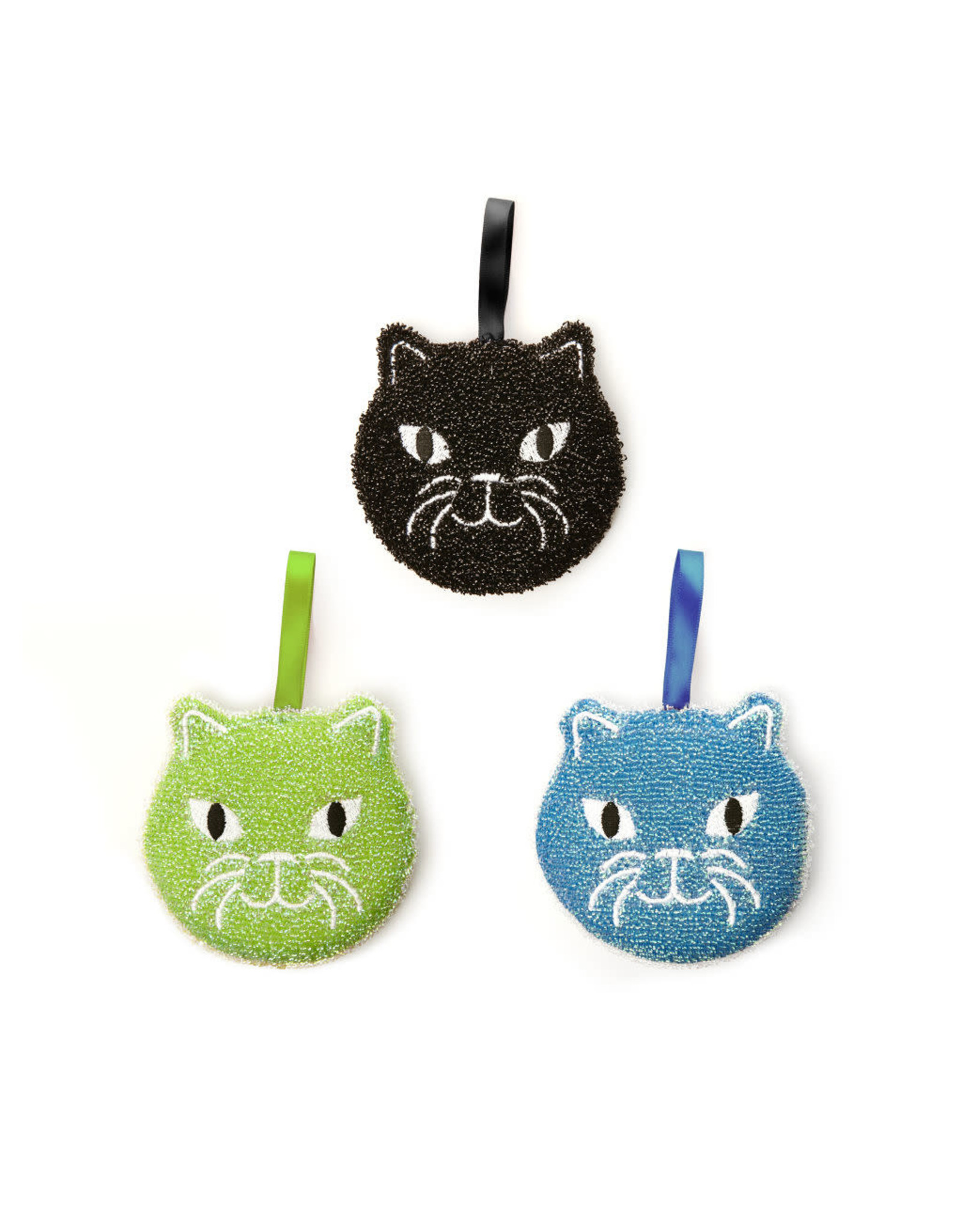 sponges in the shape of a  cat (set of 3)