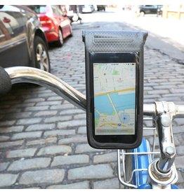 telefoonhouder voor op de fiets (regenbestendig)