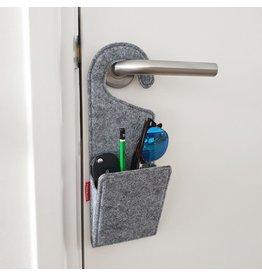 door knob pocket