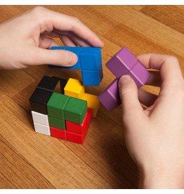 Kikkerland puzzle - block cube 3D