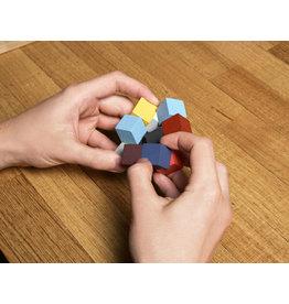 Kikkerland puzzle - elastic cube 3D
