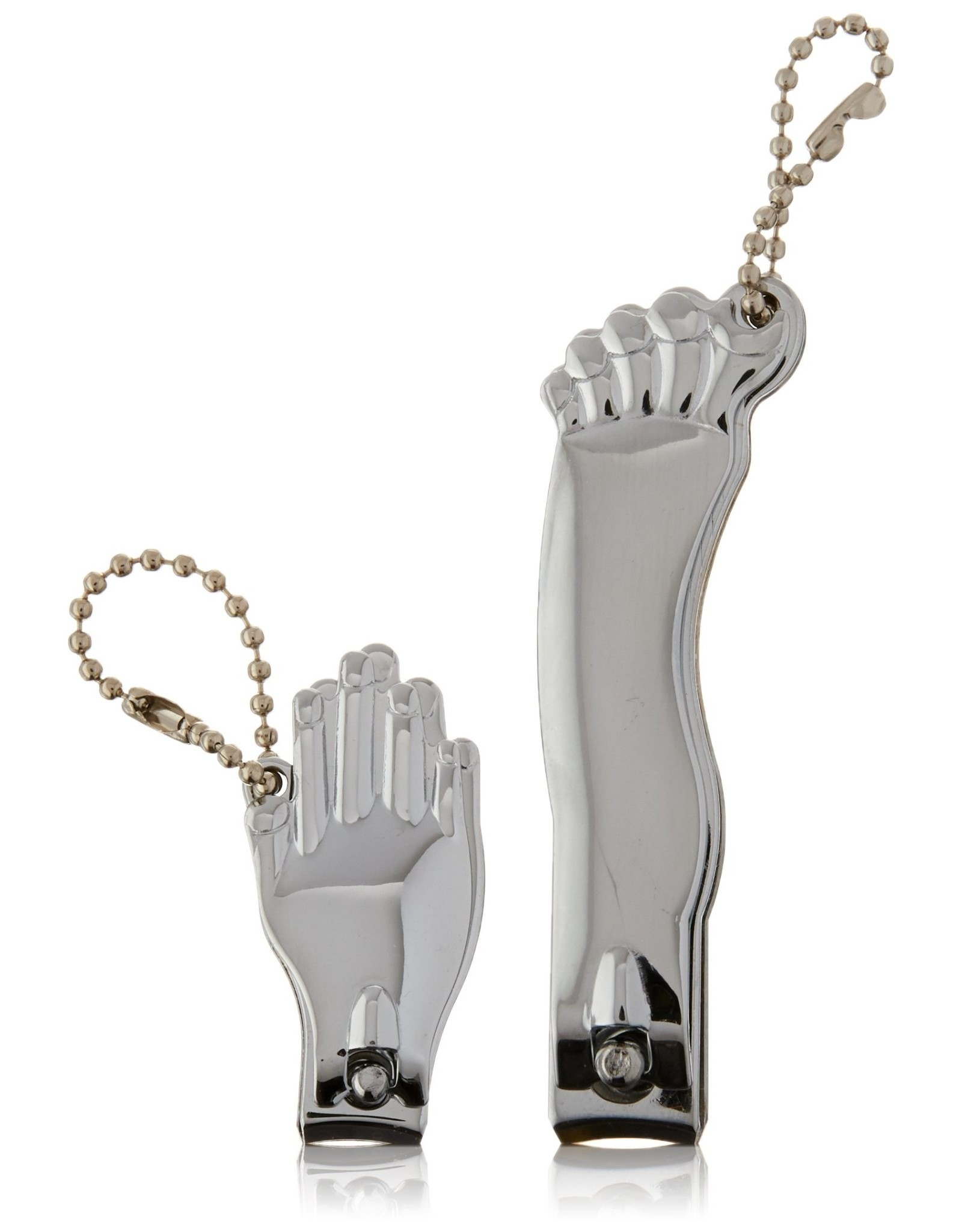 nail clippers - hand & foot (chrome)