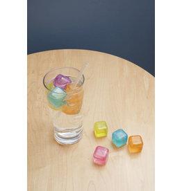 Kikkerland reusable ice cubes - squared (30pcs)