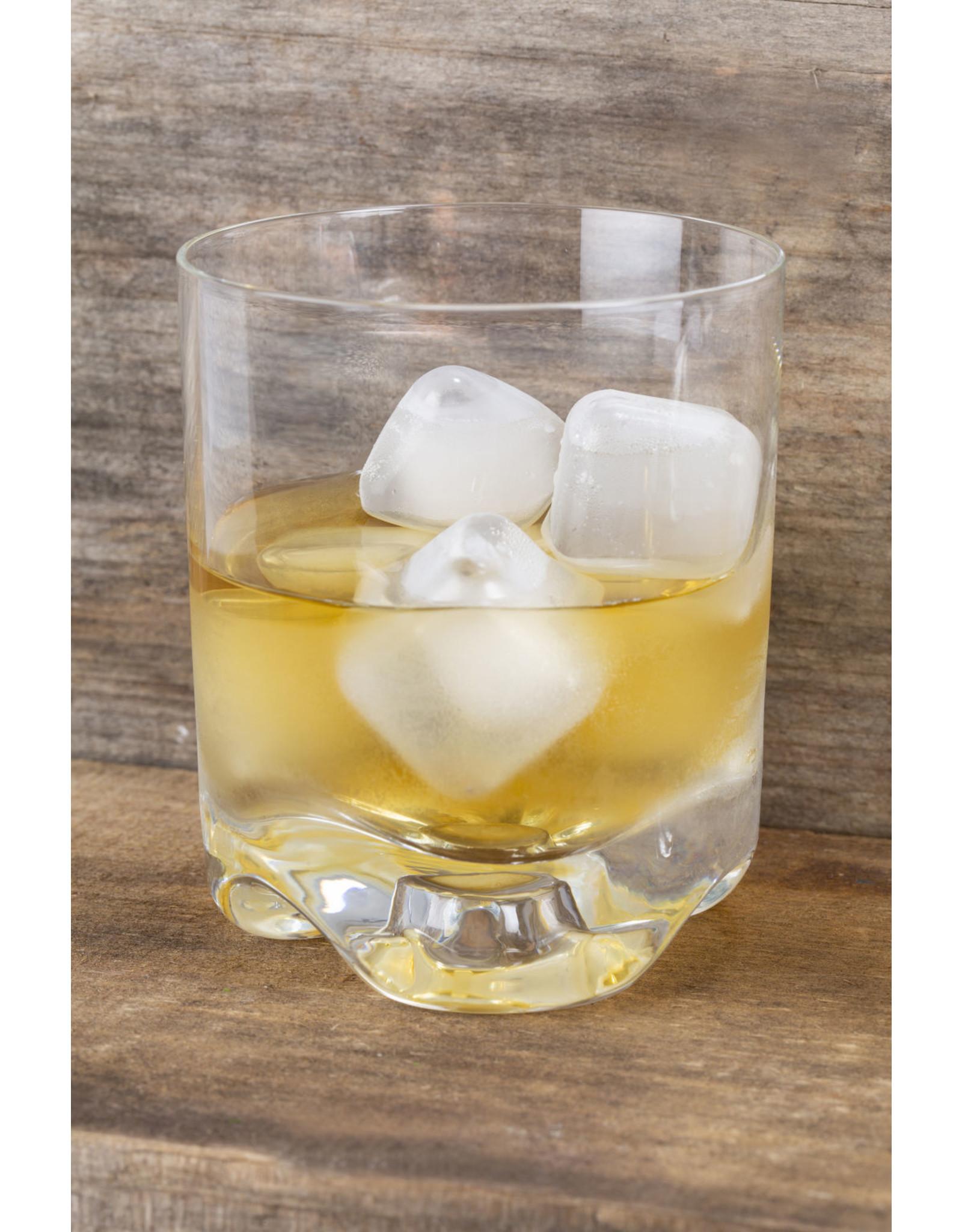 reusable ice cubes - squared transparent (30pcs)