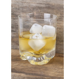 Kikkerland herbruikbare ijsblokjes - vierkant (transparant) (30 stuks)
