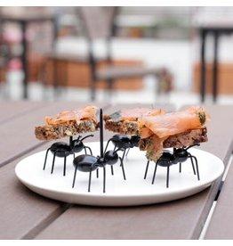 Kikkerland aperitiefstokjes - mieren (20 stuks)