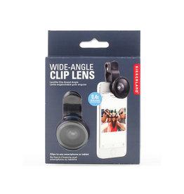 Kikkerland groothoek selfie lens voor gsm