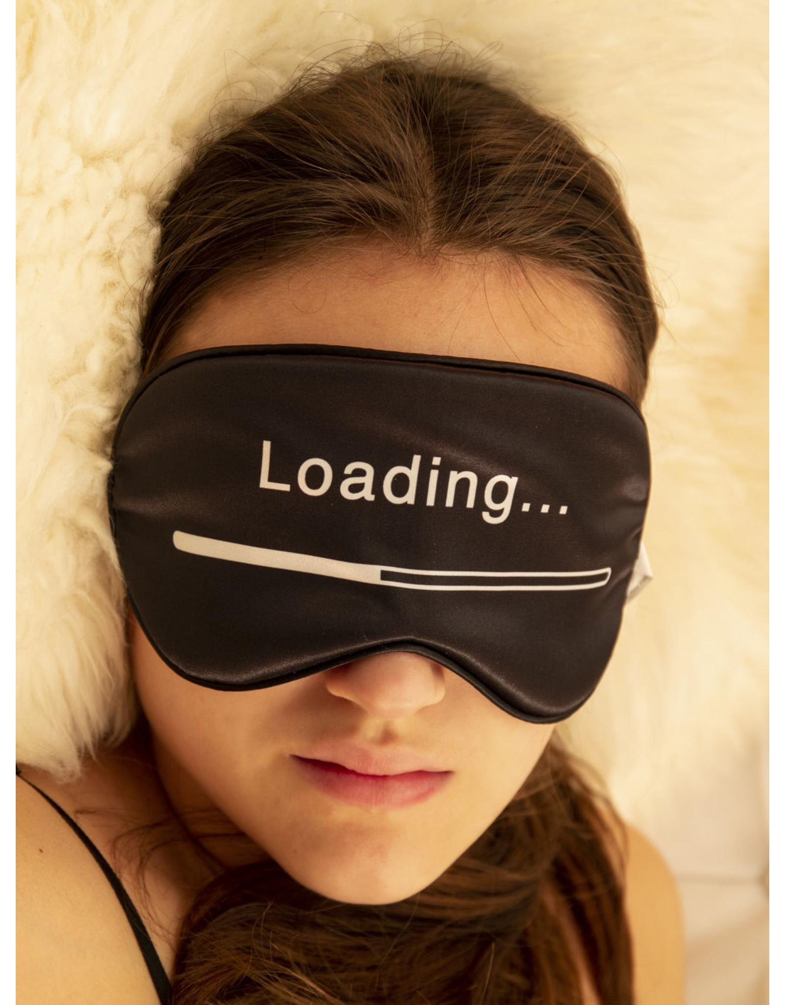 eye mask - loading