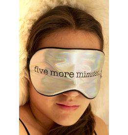 Kikkerland eye mask - five more minutes