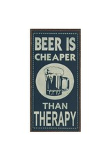 magnet - beer is cheaper than therapy