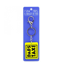 likes shopping sleutelhanger - dad's taxi