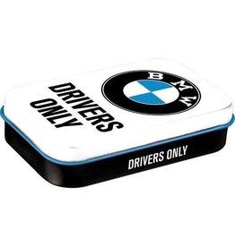 Nostalgic Art mint box - XL - BMW drivers only
