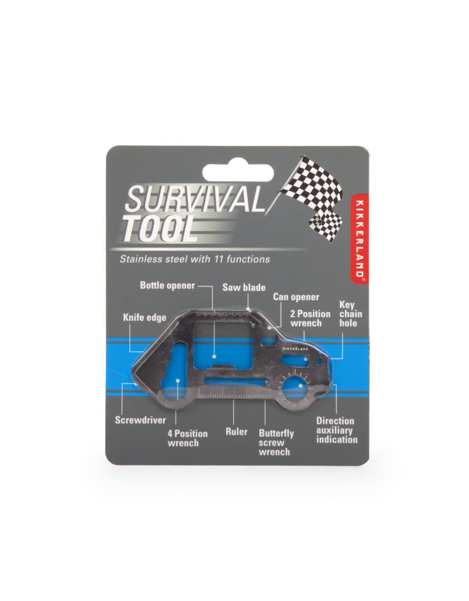 survival tool - car shaped
