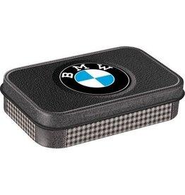 Nostalgic Art mint box - XL - BMW logo