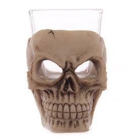 keramisch shotglas - schedel