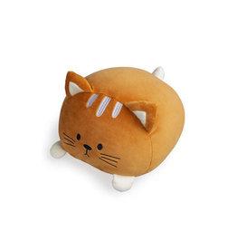 kussen - kitty (bruin)
