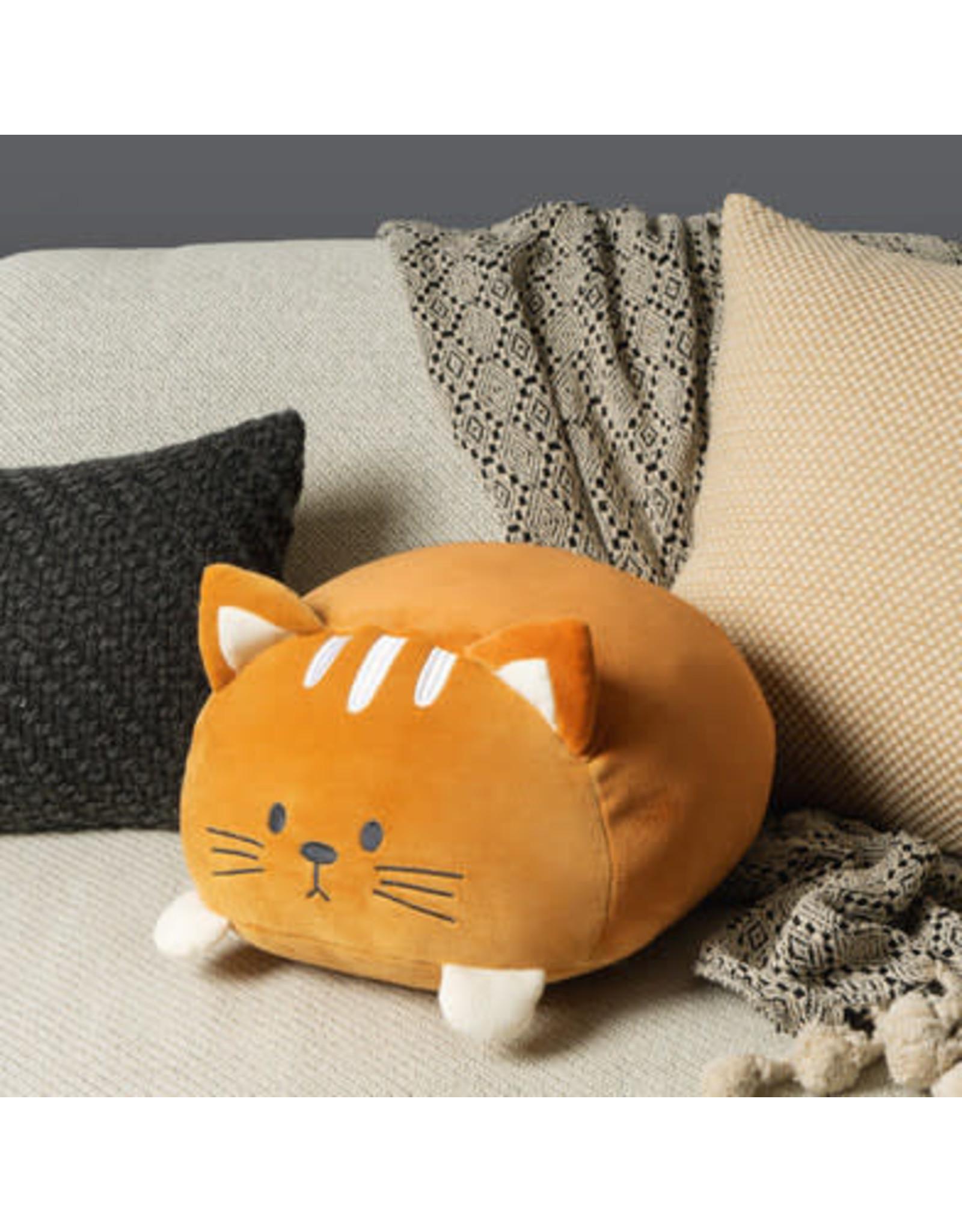 pillow - kitty (brown)