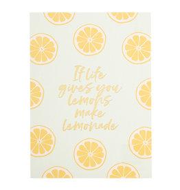 Timi postcard - if life gives you lemons