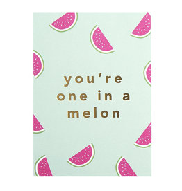 Timi postcard - you are one in a melon