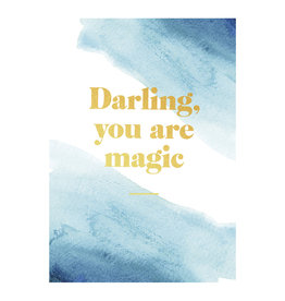 postcard - darling you are magic