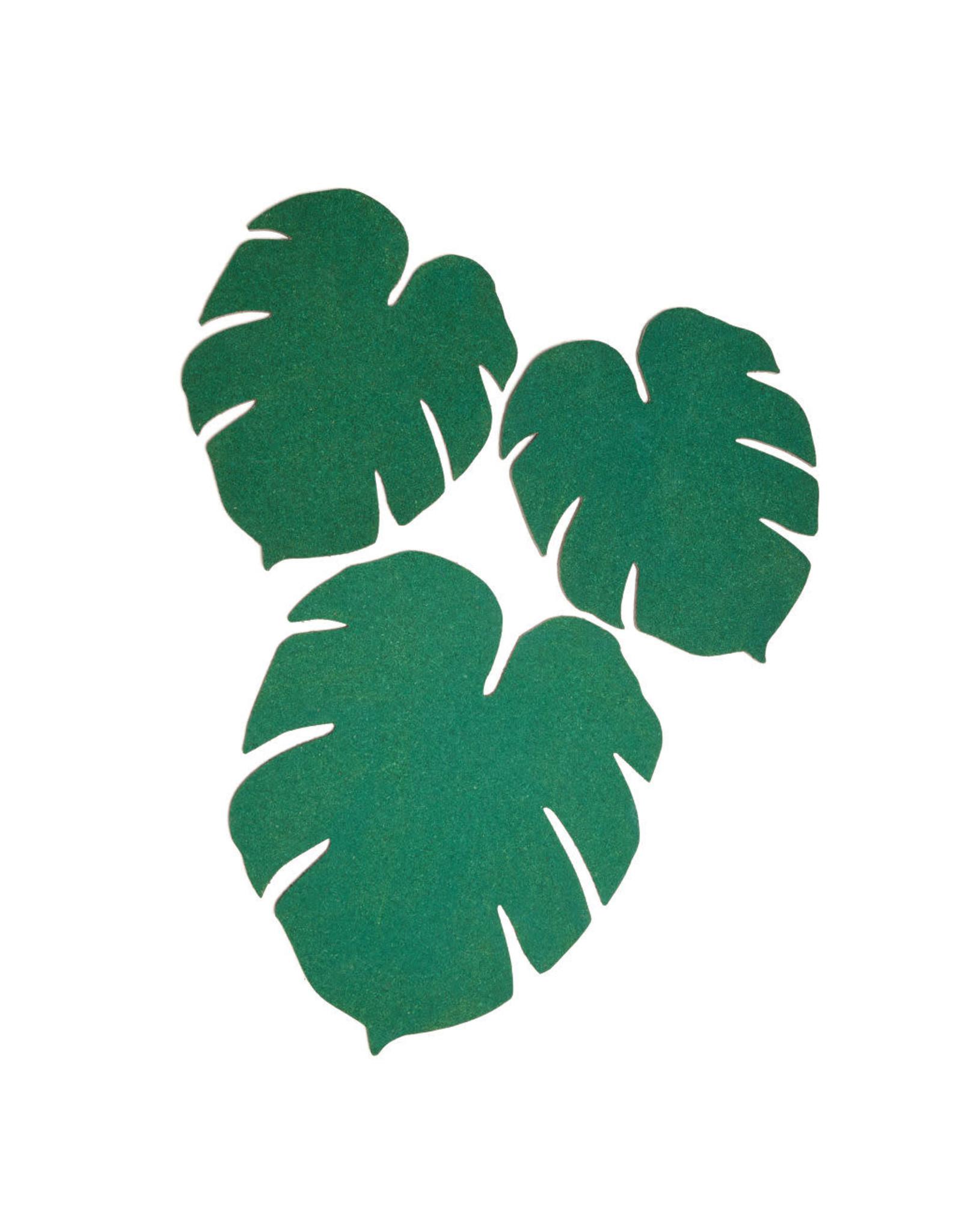 memobord - monstera leaf