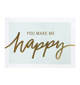 postcard - you make me happy