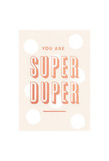 postcard - you are super duper