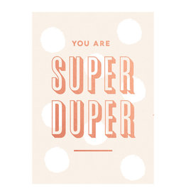 postcard - you are super duper