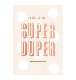 Timi postcard - you are super duper