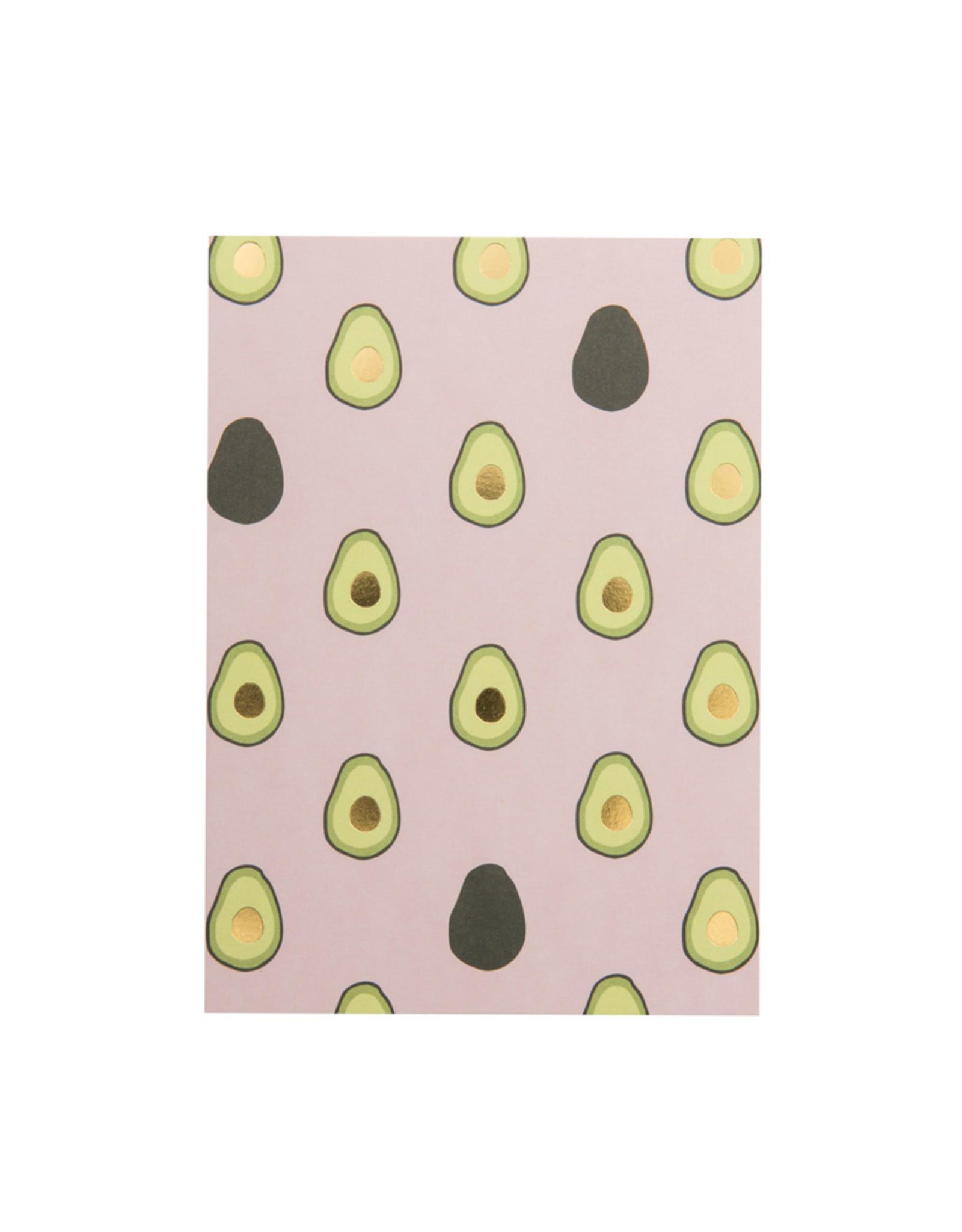 postcard - avocado
