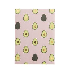 Timi postcard - avocado