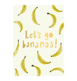 Timi postcard - let's go bananas