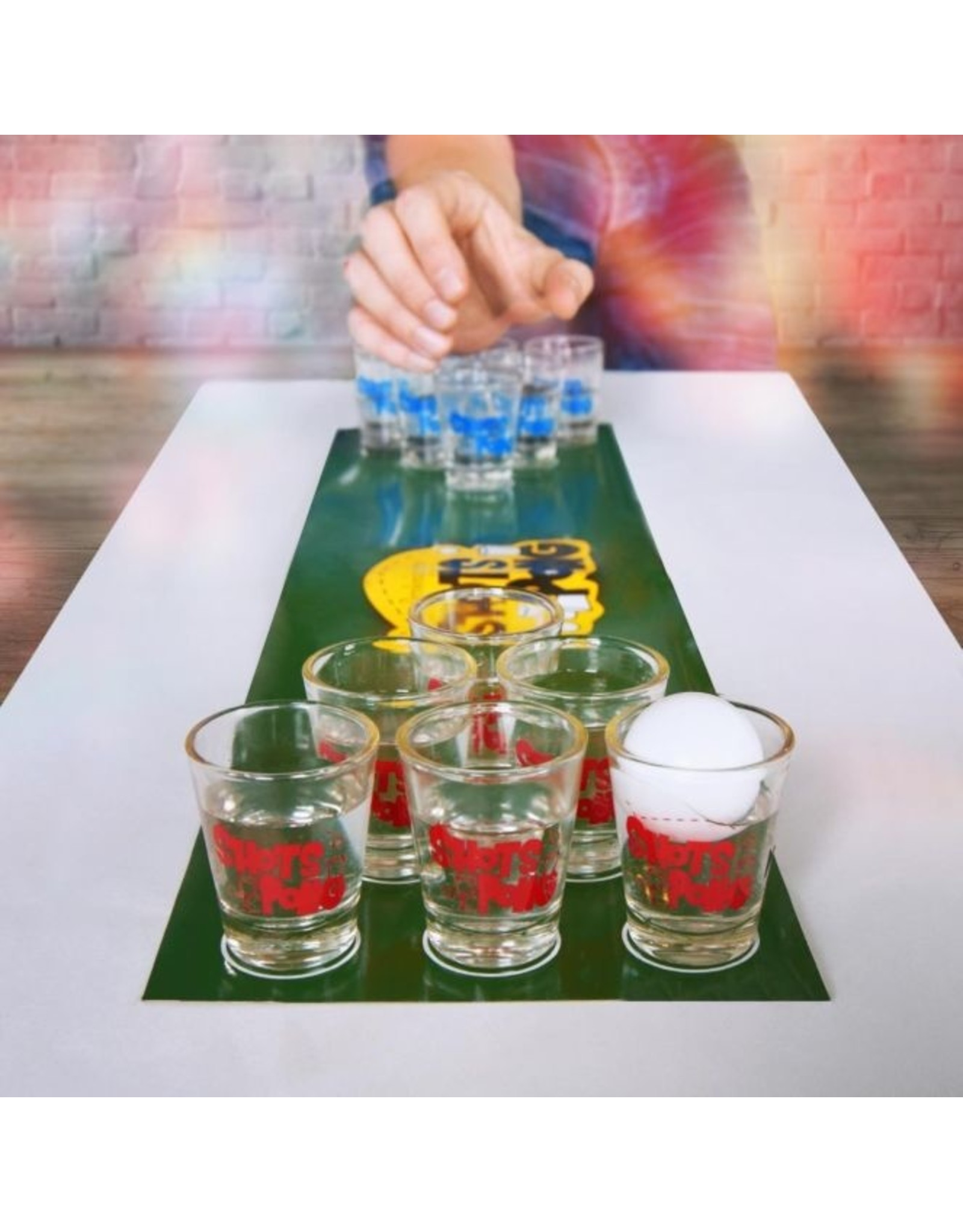 drinking game - shots pong