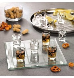 Out Of The Blue drinking game - tic tac toe
