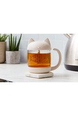 mug/tea infuser - cat/fish