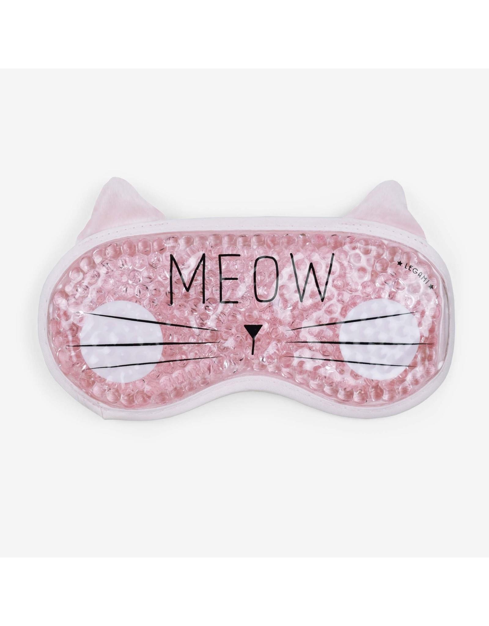 Legami eye mask shaped like a cat