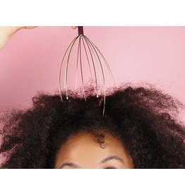 Kikkerland head massager - pattern