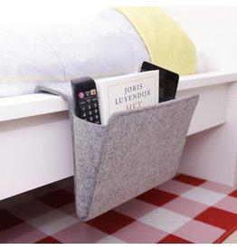 Kikkerland bedside caddy - felt