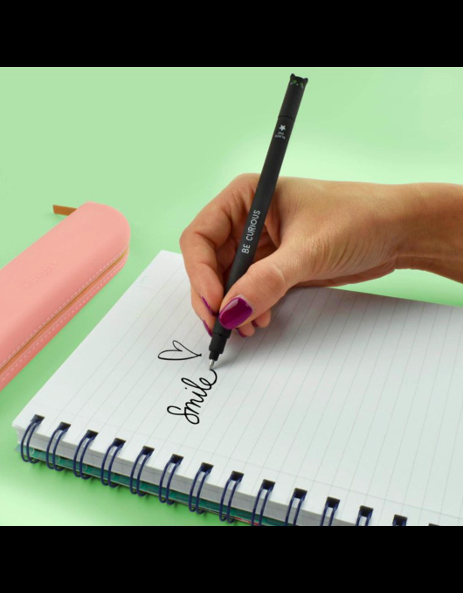 Legami erasable pen - cat (black ink)