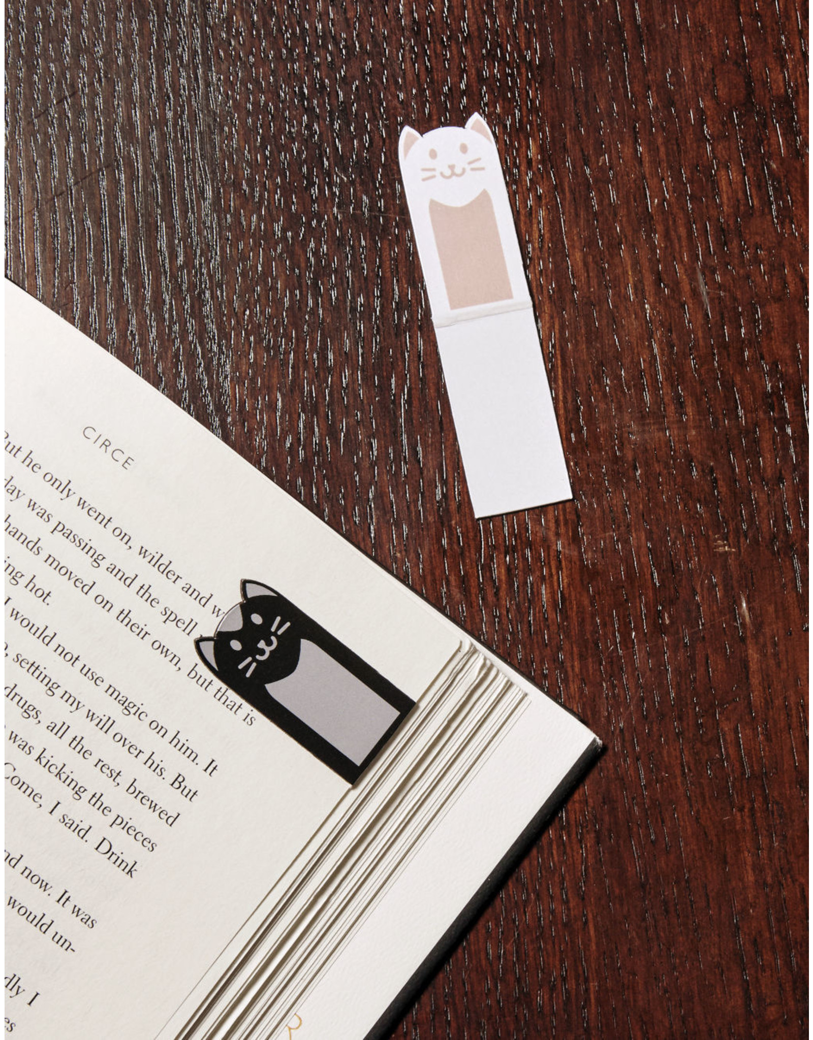 magnetic bookmark - cats