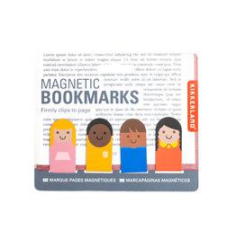 Kikkerland magnetic bookmark - people