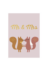 Timi postcard - mr & mrs
