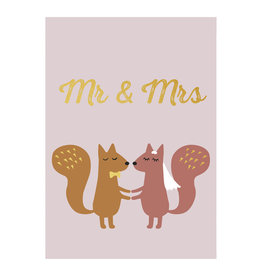 Timi postcard - mr & mrs