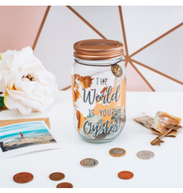 Sass & Belle money jar - the world is your oyster